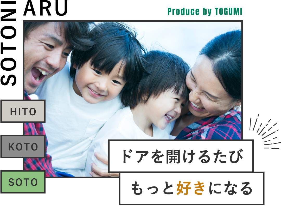 SOTONIAEU Produce by TOGUMI - ドアを開けるたび もっと好きになる