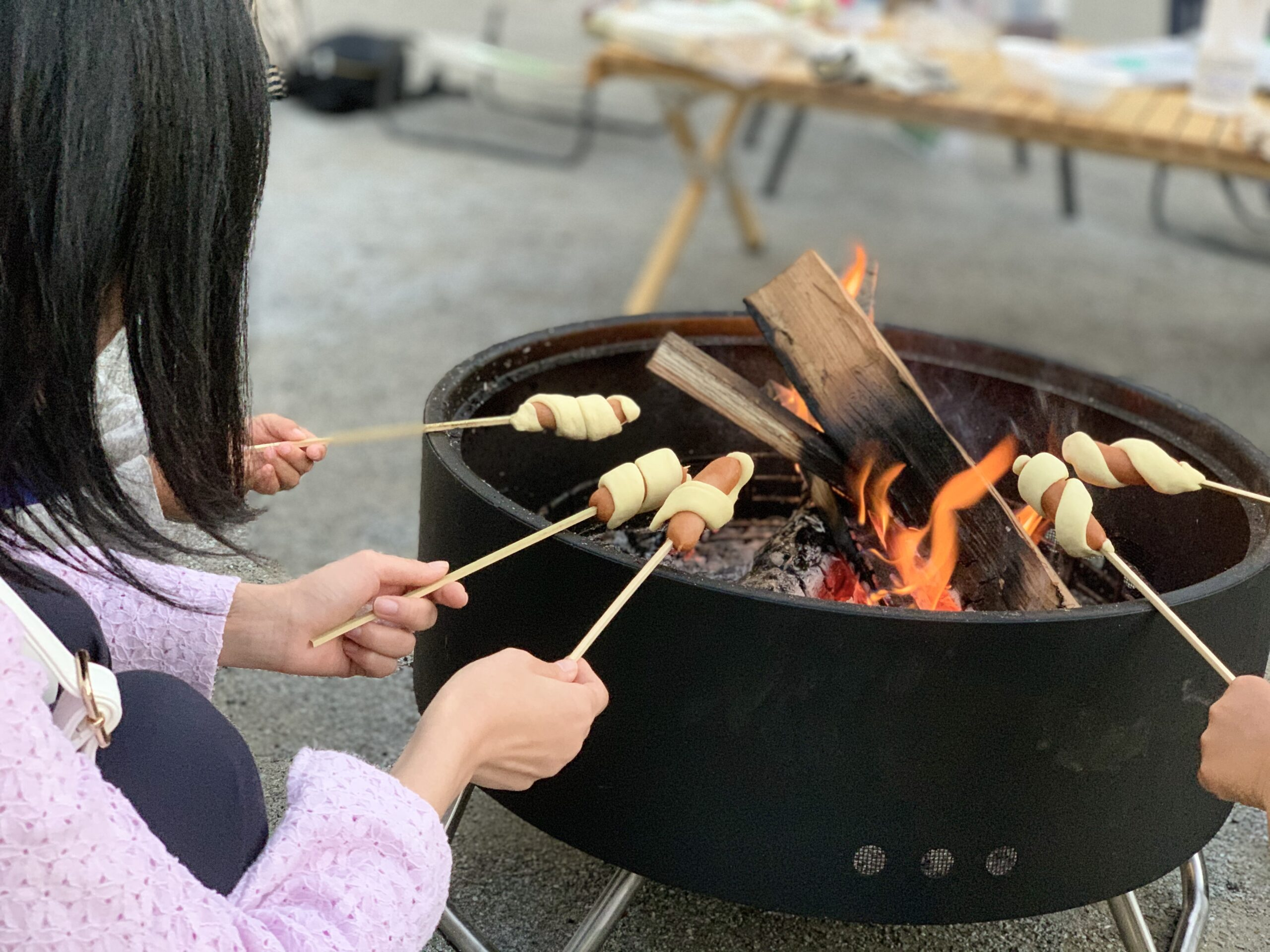 2/21(金)イベント開催告知!!焚き火台体験@新とよパーク