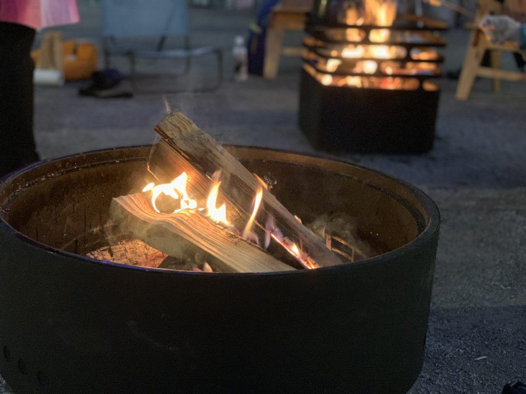 焚き火台 リボルバー