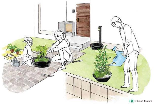 自分たちでも創れた -小さな庭の物語-